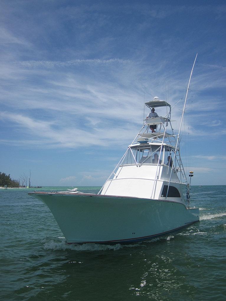 The jumanji sport fishing deep sea fishing charters off for Deep sea fishing boat