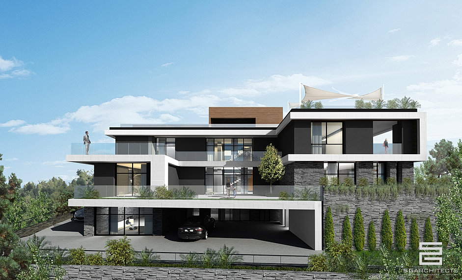 Sg architects remy sfeir lebanon architecture for Modern house lebanon