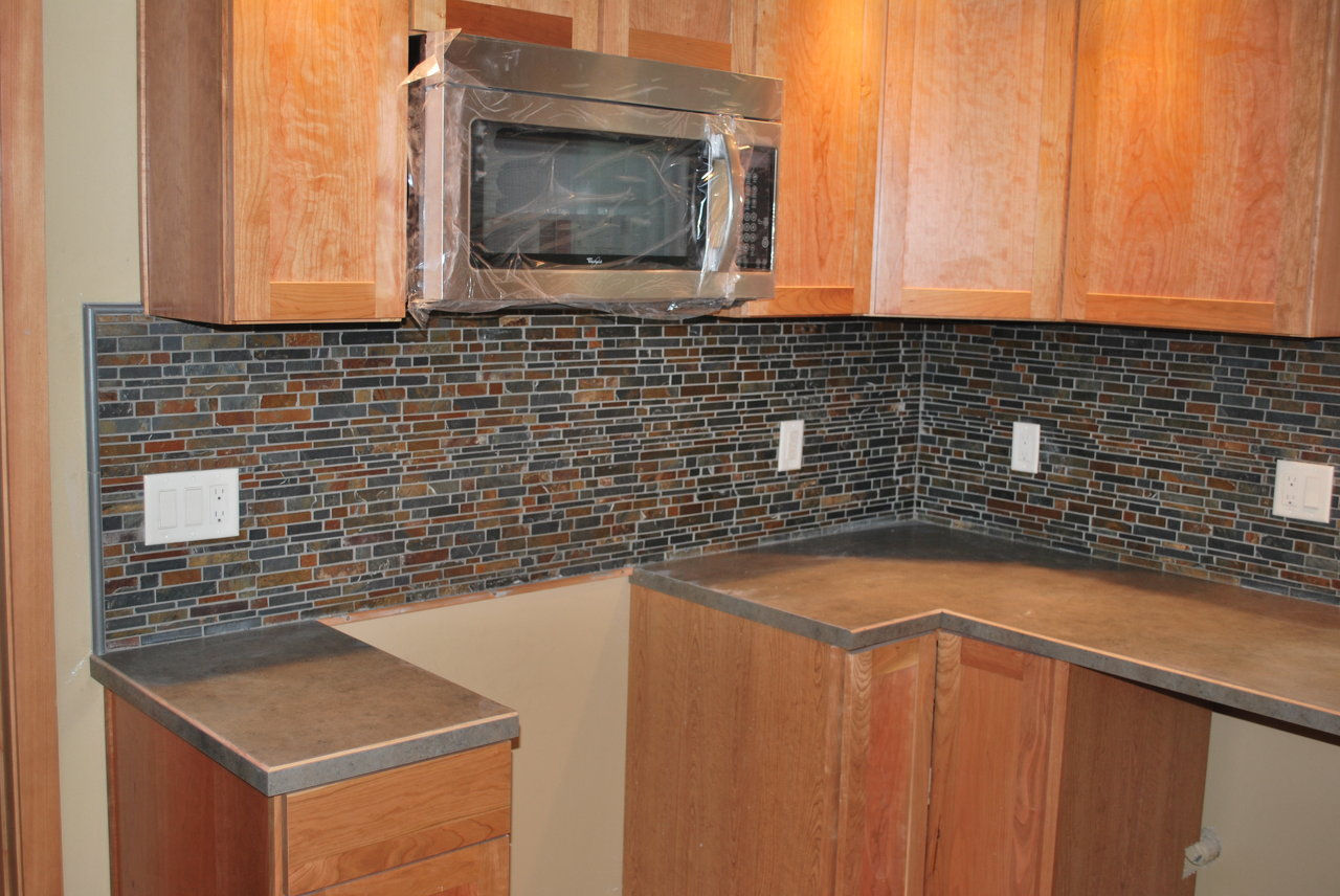 Slate Kitchen Backsplash New Kitchen Style
