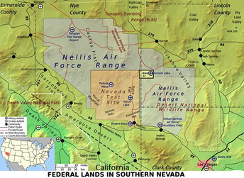 The Nevada National Security Site Nnss Previously The Nevada Test Site Nts Is A United States Department Of Energy Reservation Located In Southeastern