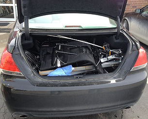Two TerraTrik Roves in a trunk