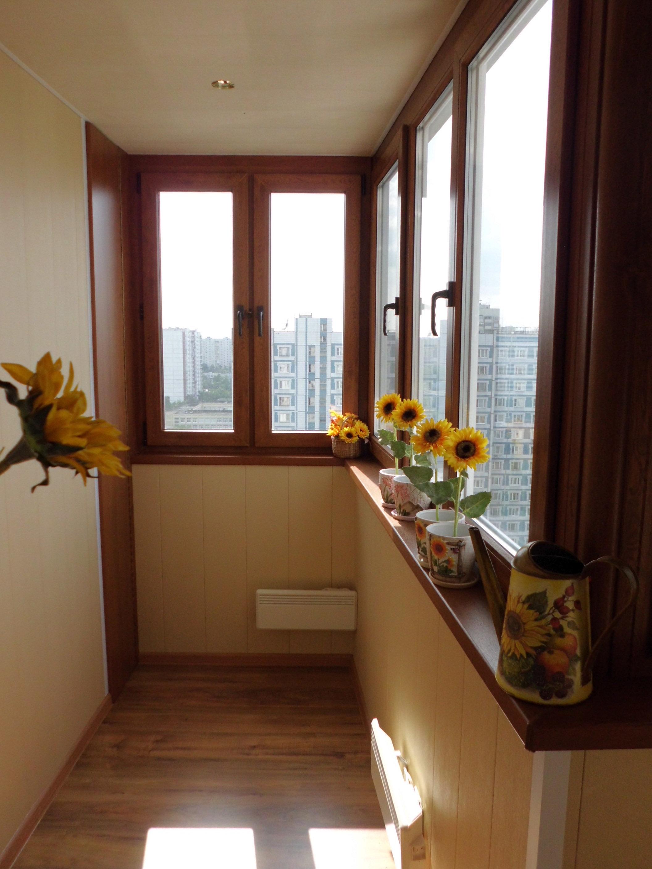 Внутренняя отделка балкона dipris-studio.