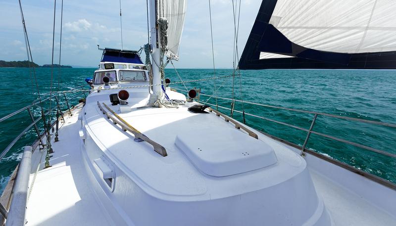 Фото на палубе яхты 3 фотография