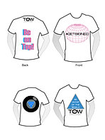T-shirt design #1 & #2
