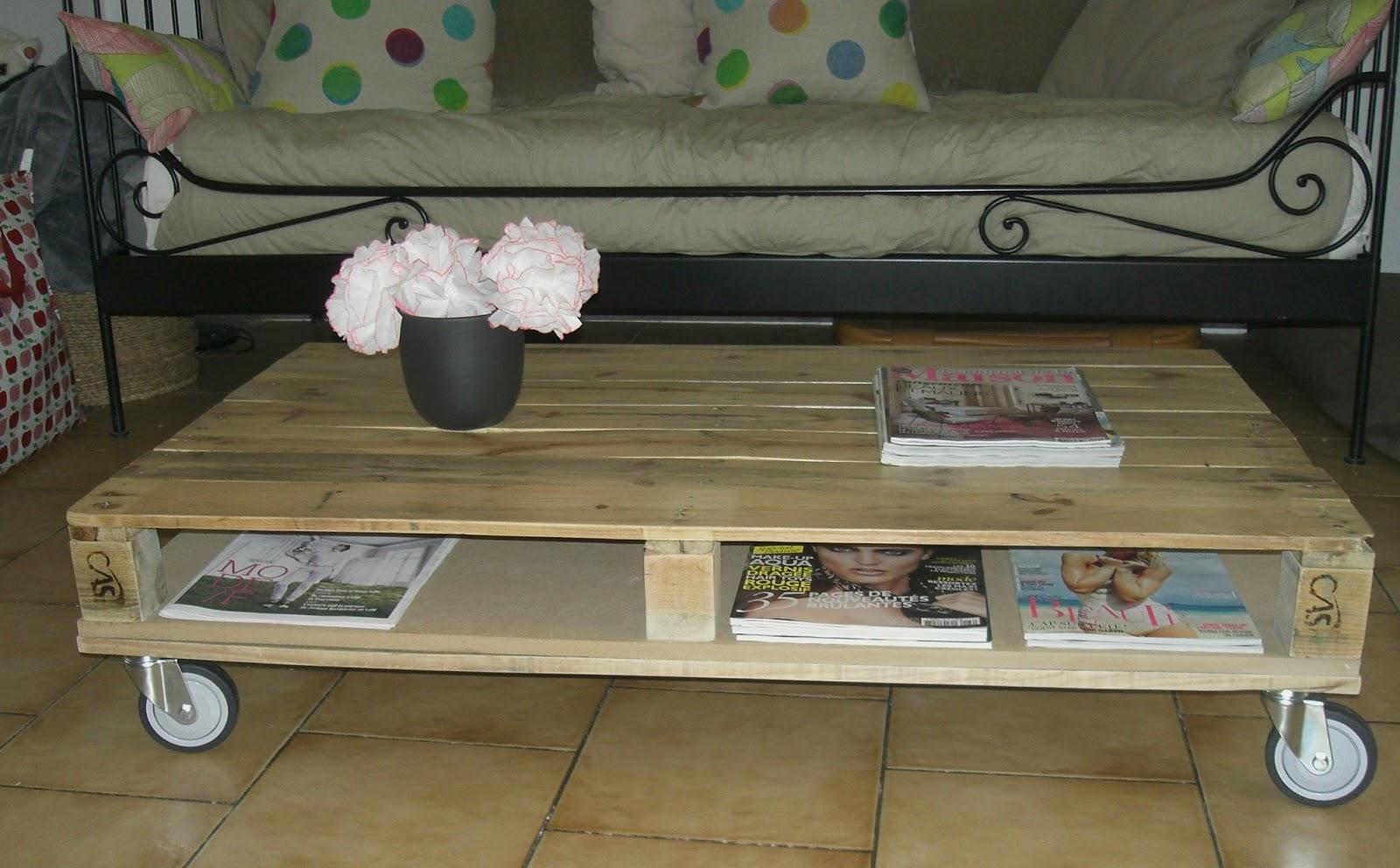 Dans ce nouvel article vous allez d couvrir comment cr er - Creer une table basse avec des palettes ...