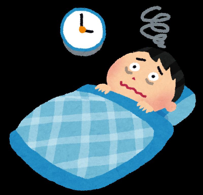 「寝つき イラスト」の画像検索結果