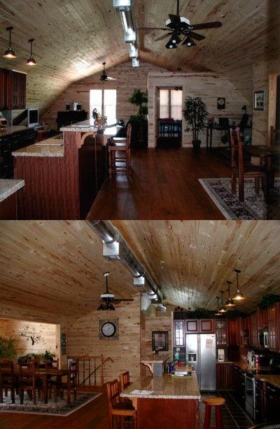 Gambrel Pole Barn 2nd Floor Interior Finish Yoakum TX
