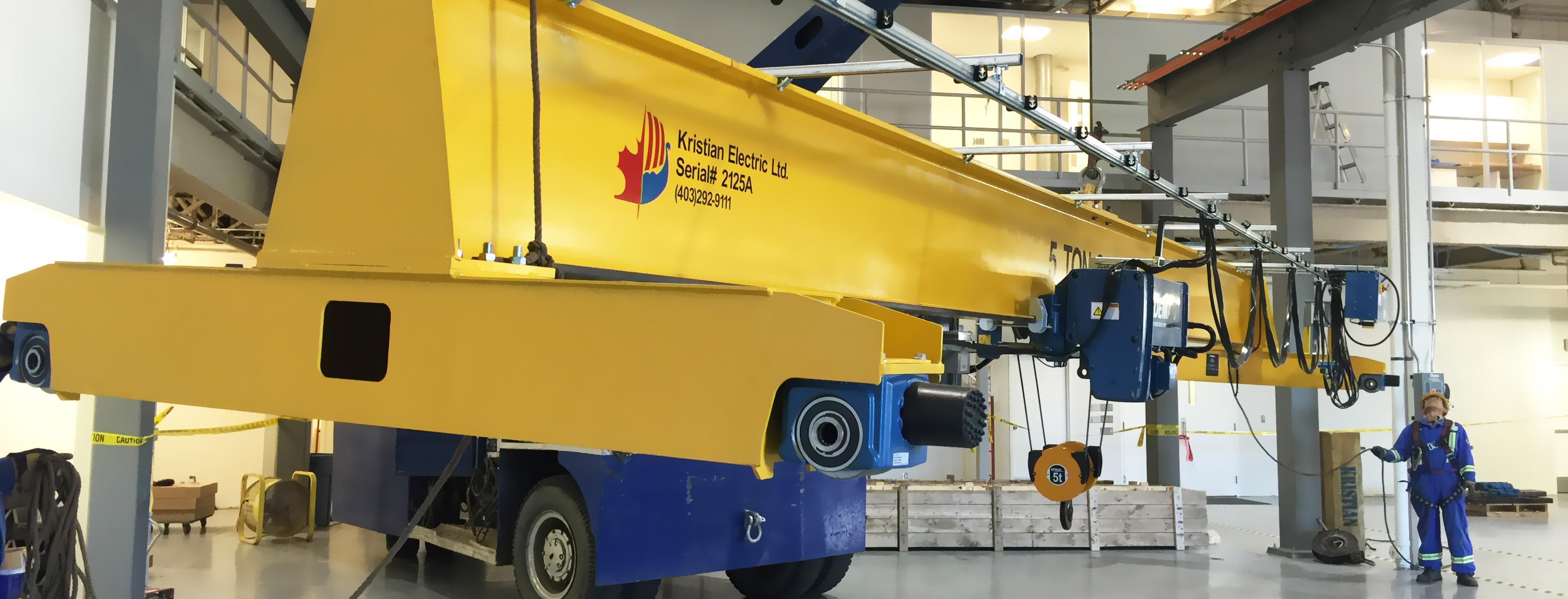 Kristian Electric Ltd Lift Weld Cut