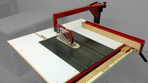 Over Arm Dust Collection For The Table Saw Justin Depew Diy Over