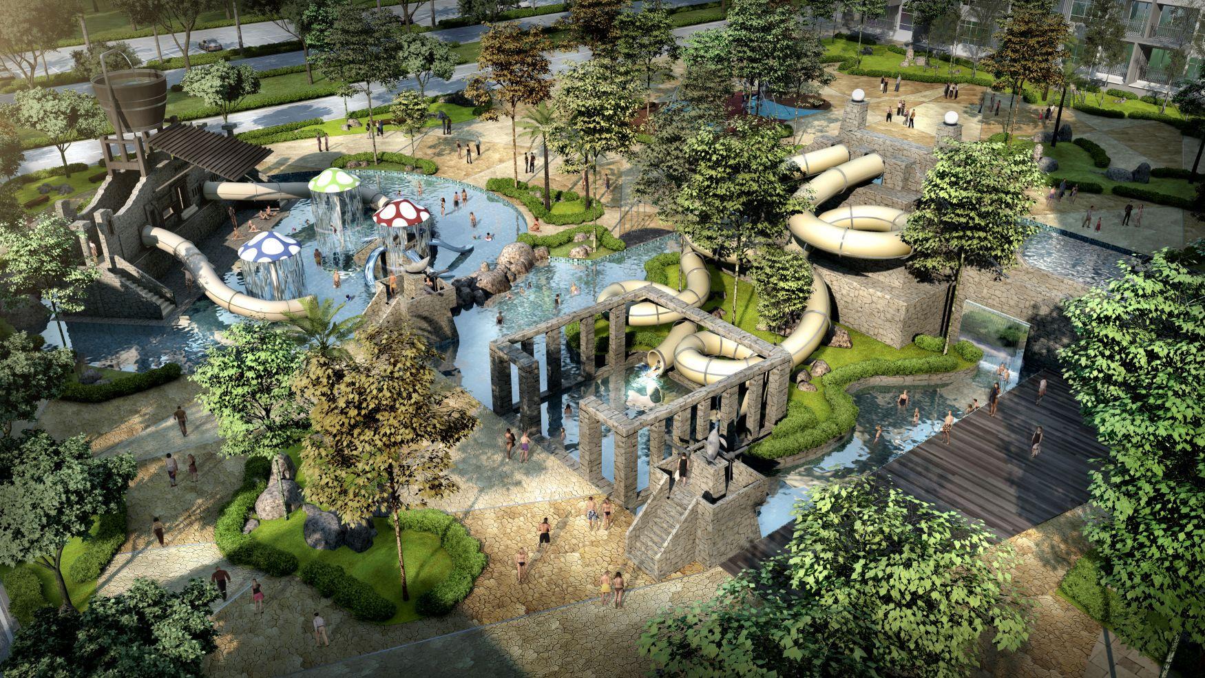 Water park consultants for Designhotel 54