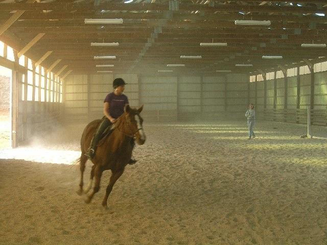 Riding Indoors