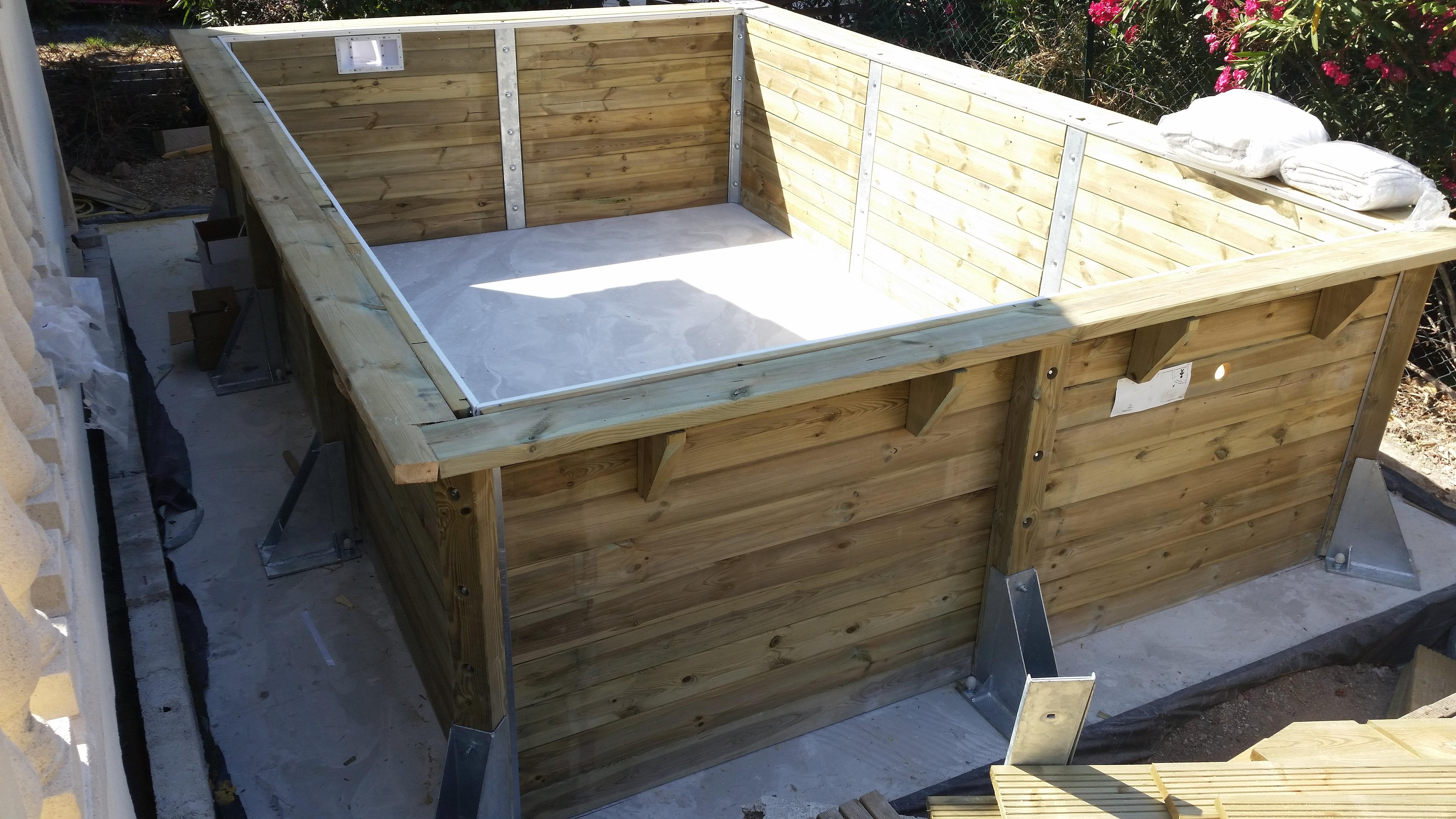 Le service pose montage abri de jardin bois piscine bois piscine hors sol bois detail le - Abri de jardin flovene aixen provence ...