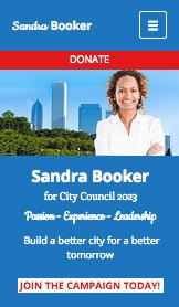젊은 시의원 후보의 홈페이지