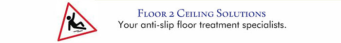 Reduce your risk of slip and fall with a cost-effective, affordable anti-slip floor treatment