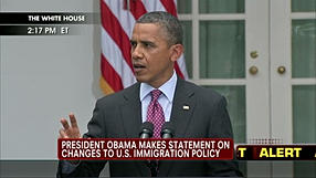 Barack Obama and immigration - The border is not the problem