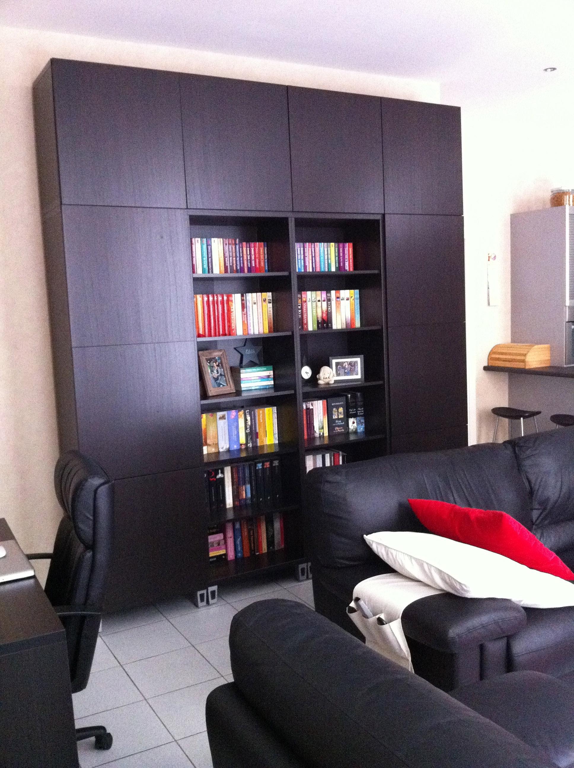 Appartement centrum maaseik te koop boekenkast - Hoe een grote woonkamer te voorzien ...