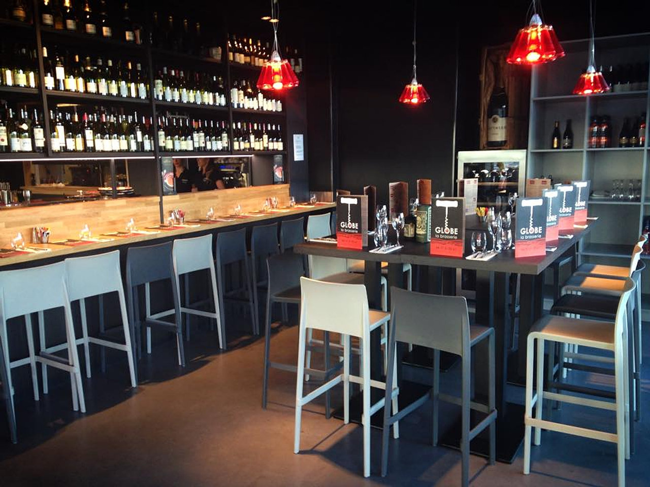 Brasserie le globe for Bar a champagne saint etienne