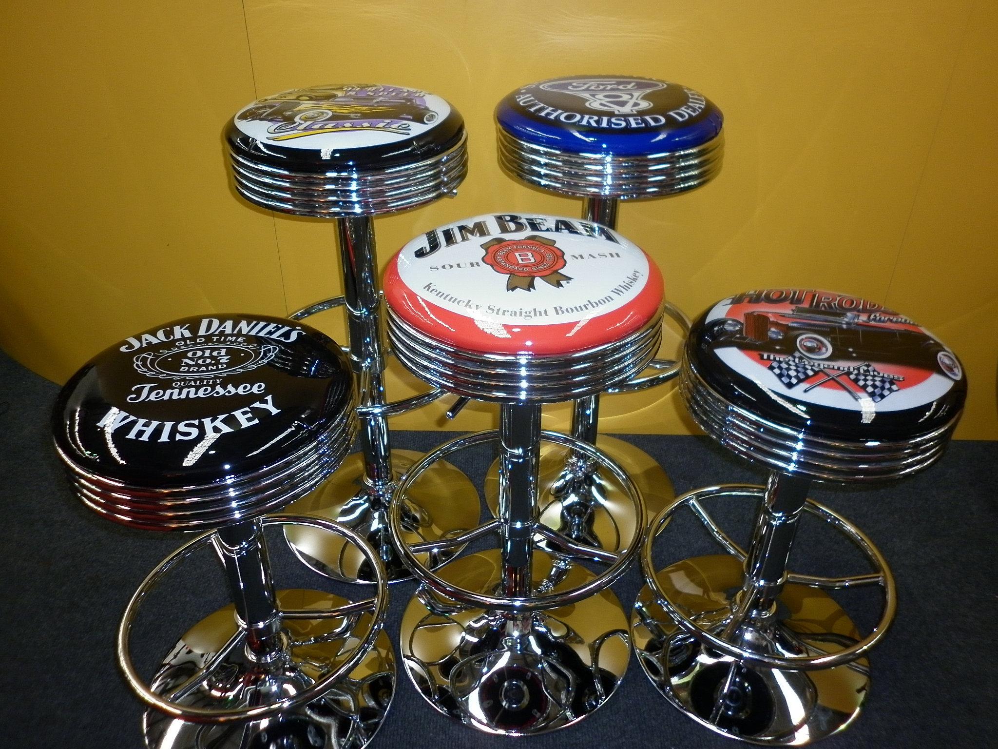 Pinball machines, arcade games, bar stools, garage signs,neon signs | GAS LIFT BAR STOOLS ...