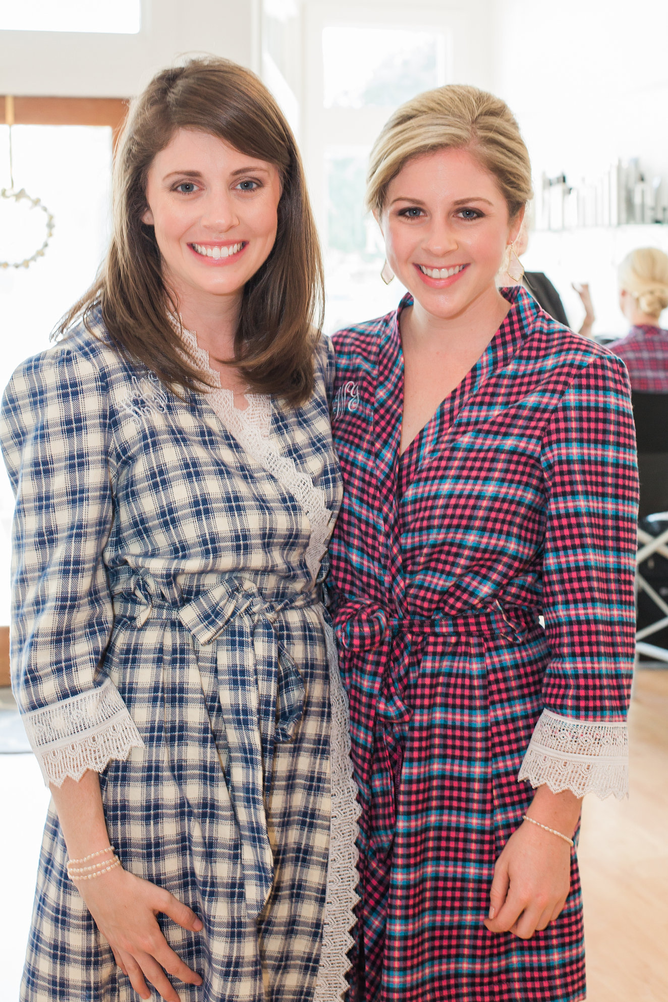 Bride and Bridesmaid Robes, Dressing Gowns - ChezBlanc