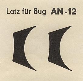Декаль An-12 №2