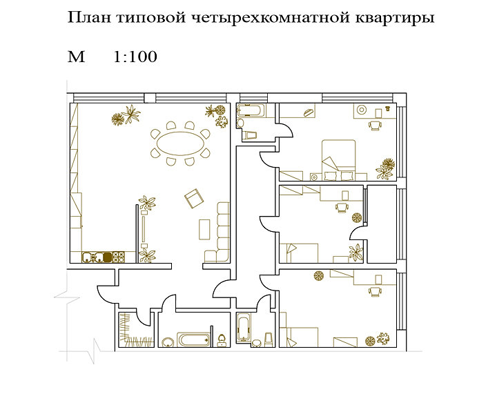 Проект дизайн квартиры онлайн