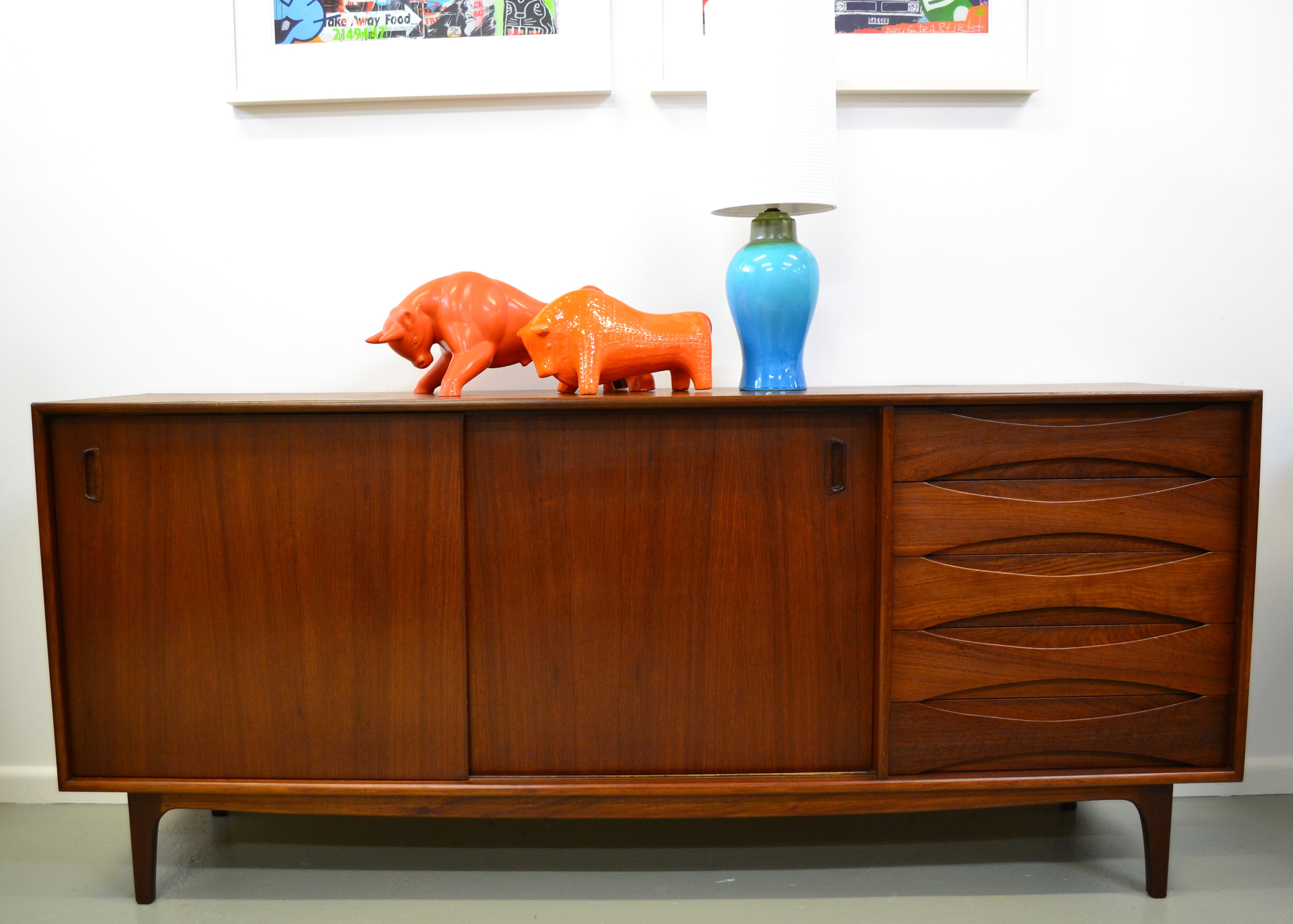 Mid century modern retro and vintage furniture sydney and for Sideboard 3 00 m