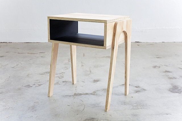 Mid century modern retro and vintage furniture sydney and for Plywood bedside table