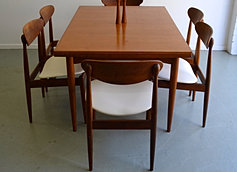 teak rectangular dining table sold separately to the parker chairs