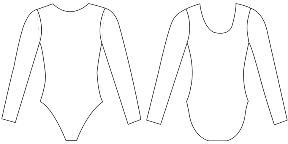 Drawing Sheet Design Your Own Suit Template