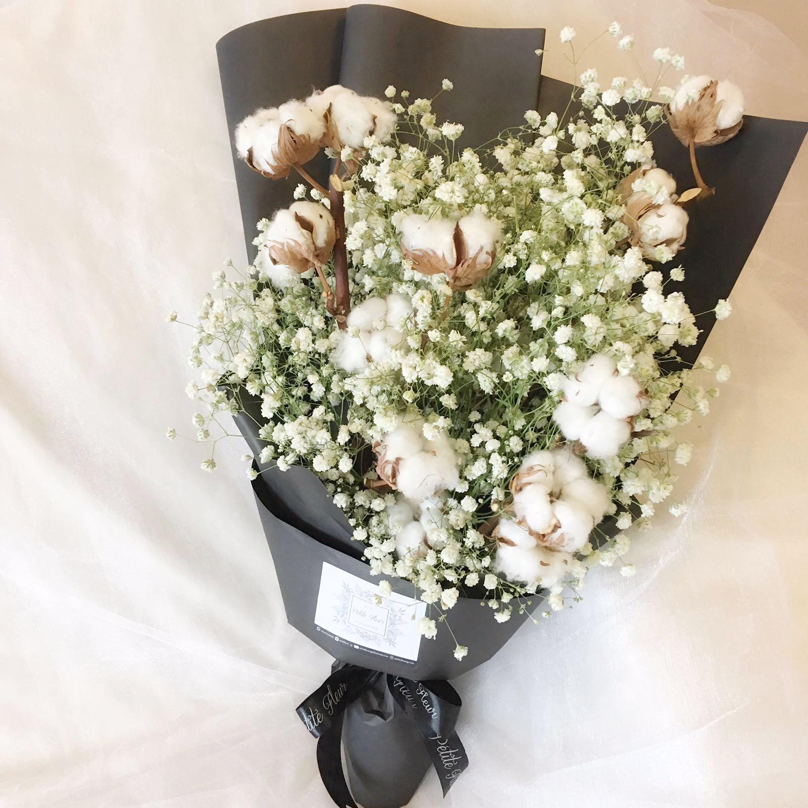 Cotton Flower Bouquet Choice Image - Flower Wallpaper HD