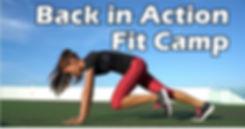 2020 Back in Action Fit Camp Website Ban