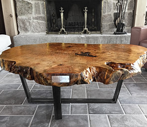 ROUND TAPERED CROSS TABLE
