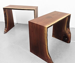 WATERFALL END TABLES