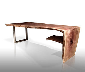 WOODEN WATERFALL COFFEE TABLE