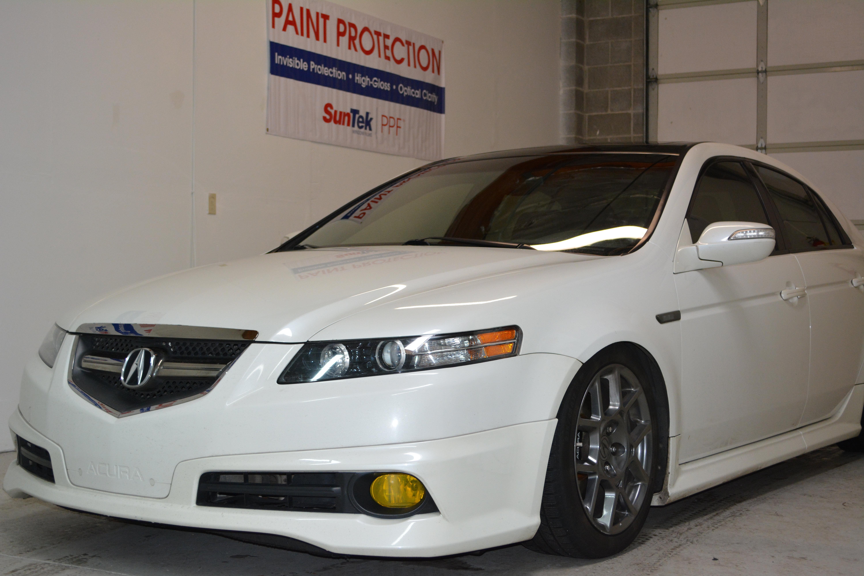 Tct Wraps Acura Tl Fog Light Tint