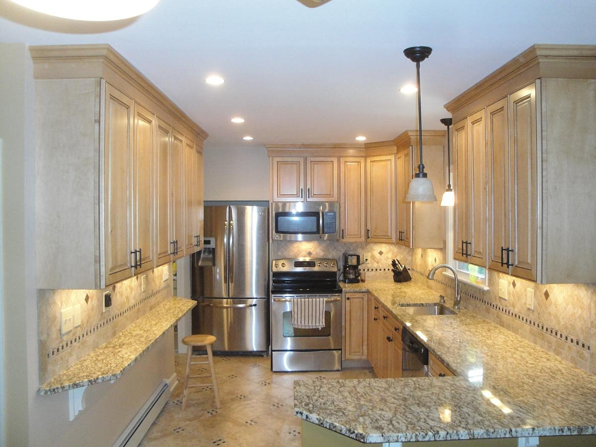 Builders kitchen cabinets albany ny - C J Custom Builders General Contractor Albany Ny Full Kitchen View