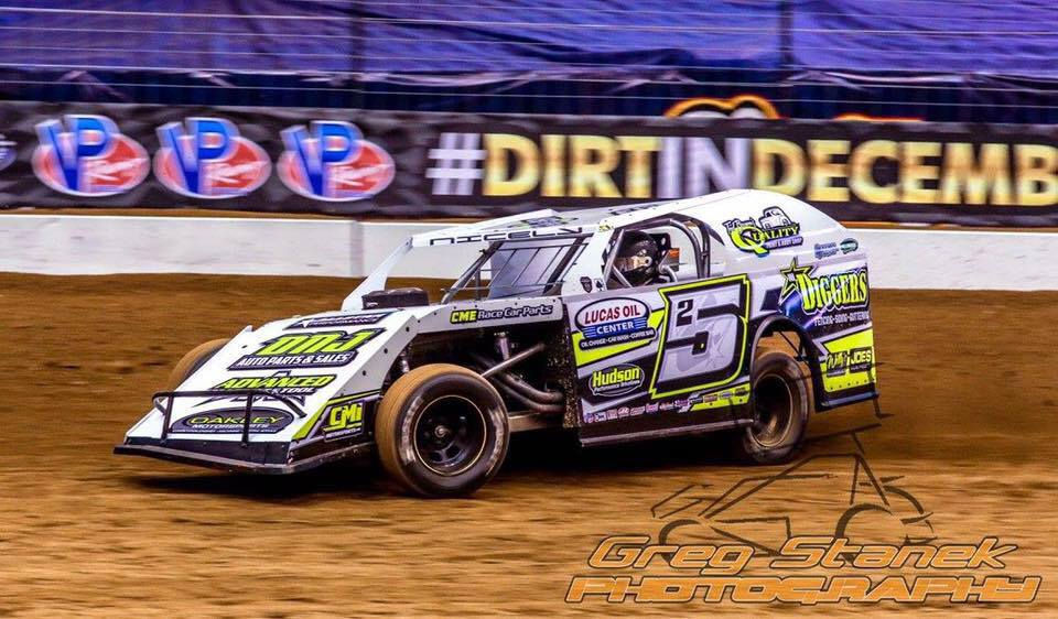 Tyler Nicely Racing 25 Ump Modified Dirt Track