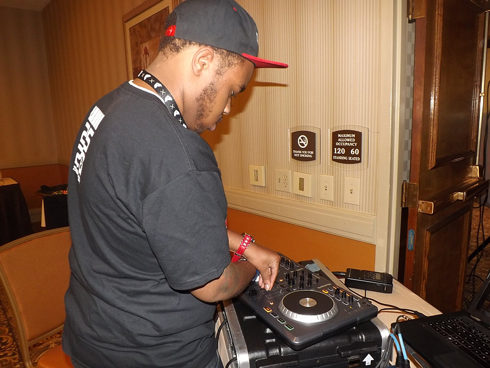 DJ Big Red Mixing it up