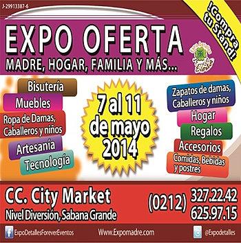 Expo Oferta, Madre, Hogar, Familia y más
