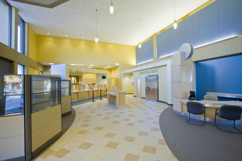 . P05 Comerica Bank   Interior Design   San Jose  CA   Studio DesignLink
