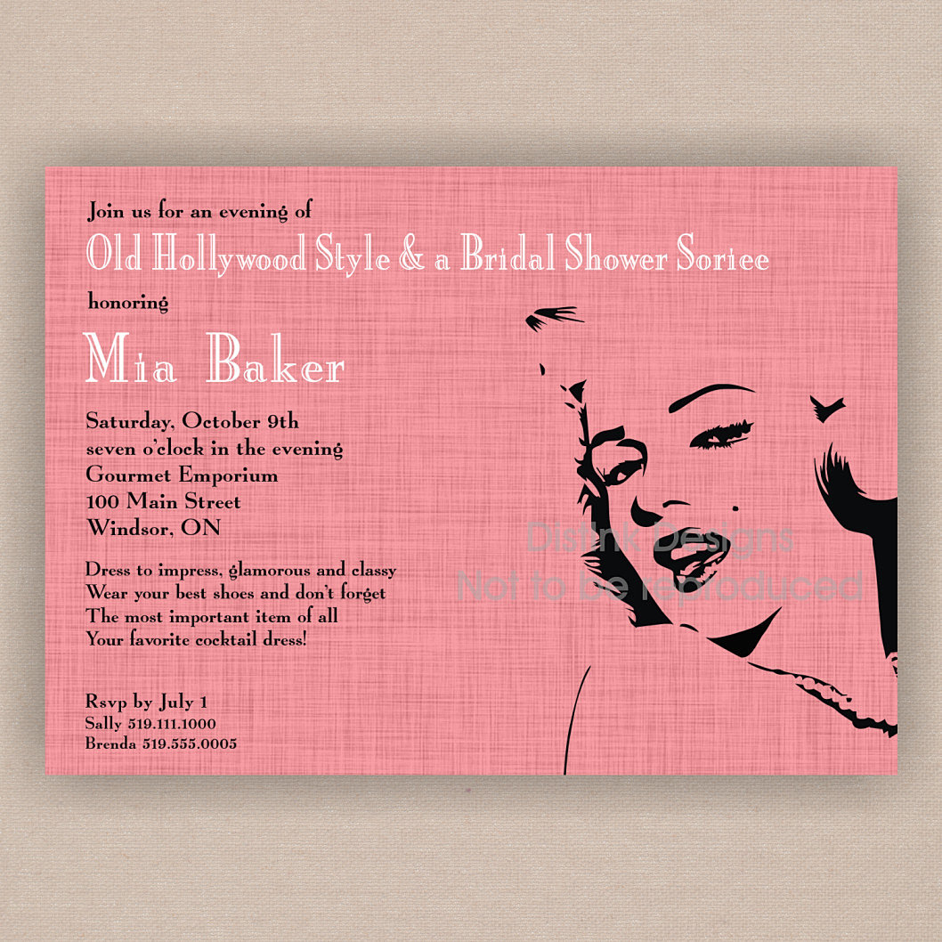 1950s Bridal Shower