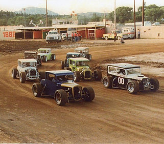 As The Sun Shined Down On Water Soaked Racetrack At Yavapai County Fair Things Began To Look Up For Excited Dwarf Car Racers