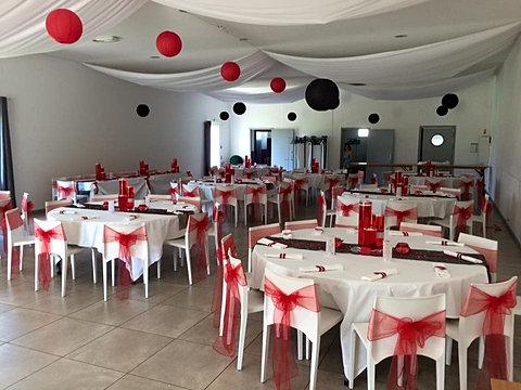 Decoration De Table Menu Rouge : Vos � vènements