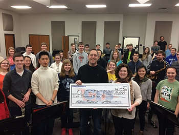 Olathe East Band $8,000