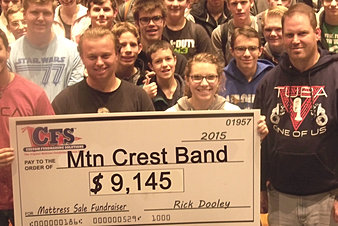 Mountain Crest Band $9,145