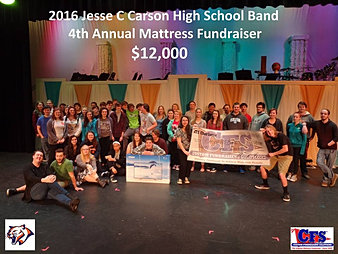 Jesse C Carson High School Band $12,000