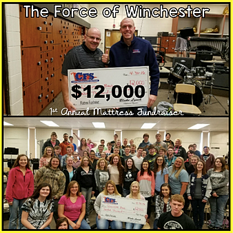 Winchester HS Band $12,000