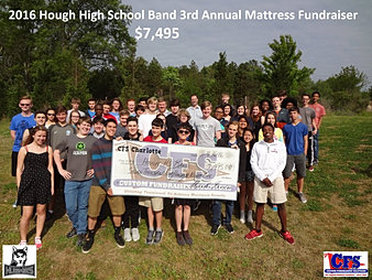 Hough High School Band $7,495