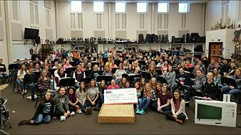 Jasper HS Band $10,000