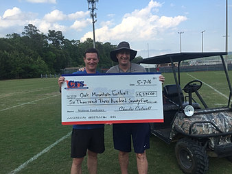 Oak Mountain HS Football $6,375